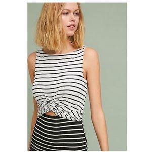 Anthropologie Dresses - BNWT Bailey 44 Two-Toned Striped Dress Size XS